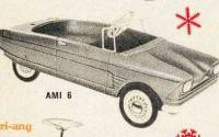 Citroën Ami6 Voiture a Pedales / Ami6 Tretauto TRI-ANG