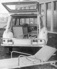 1966 Ami6 Break Ambulance